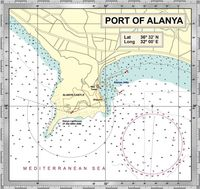 port of alanya map